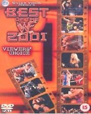 WWE Best of the WWF in 2001 Viewers Choice Orig DVD Wrestling