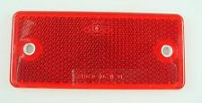 Brand New Red Reflector   For  Camper Trailer Car Universal *226