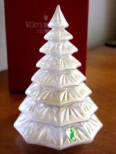 Waterford Crystal GOLD CHRISTMAS TREE Sculpture Figurine  RARE - NEW / BOX!