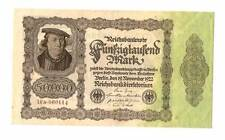 1922 Germany Weimar Republic 50.000  mark banknote