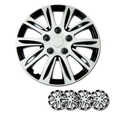 New 16 inch Hubcaps Silver Rim Wheel Covers Hub Cap Full Lug Skin For Nissan 547
