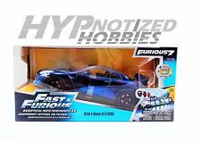 JADA 1:24 FAST AND FURIOUS BRIAN'S 2009 NISSAN GT-R R35 BLUE 97036