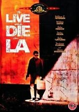 To Live And Die In LA DVD William Friedkin Gritty Cop Action Thriller Movie