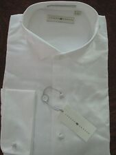 Joseph Abboud Traditional Wing Tip White Tuxedo Shirt 14.5 32/33 NEW $85