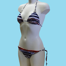 GUESS BY MARCIANO Womens bikini set BNWT blue multi colour size 42/Small FE2M82