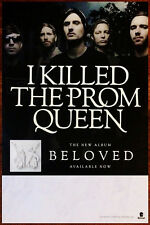 I KILLED THE PROM QUEEN Beloved 2014 Ltd Ed RARE New Poster BRING ME THE HORIZON