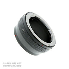 Pro Olympus OM to Fuji X Mount Lens Adapter. Adaptor for X-E1, X-Pro1, X-E2 etc