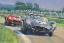 Aston Martin DBR 1 Stirling Moss Goodwood Motorsport Racing Car Art Print