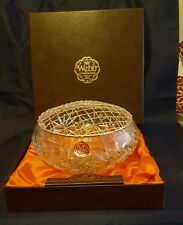 WEBB Continental Hand Cut Solid Lead Crystal Rose Bowl