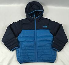 The North Face Boys KIDS Reversible Resse Jacket RTO Hernon Blue NWT Size XS
