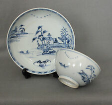 Nanking Chinese Shipwreck Cargo Flying Geese Bowl and Dish c1750