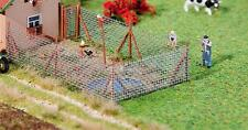 Faller HO 180414 Chain link fence with wood post New