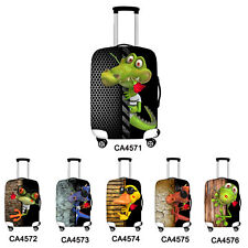 """Funny Dust-proof Elastic Travel Spandex Luggage Cover Suitcase Protector 18""""-30"""""""