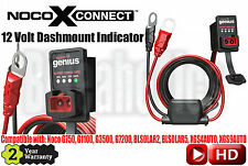 Noco GC016 X-Connect 12 Volt Dashmount Indicator G750, G1100, G3500, G7200