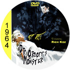 """Dr.Orloffs Monster (1964) Classic Horror and Sci-Fi CULT """"B-Movie"""" DVD"""