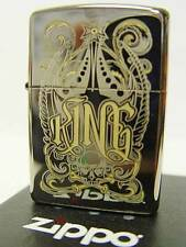 Zippo® King König Black Ice two tone- New / Neu OVP