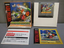 "Nintendo Virtual Boy ""MARIO CLASH"" w/ Box JAPANESE *NICE CONDITION* 1995"