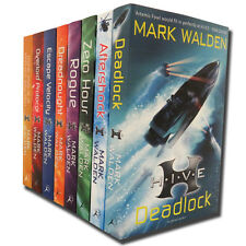 Mark Walden HIVE Collection 8 Books Set H.I.V.E Series - Deadlock, Aftershock ..