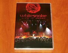 WHITESNAKE LIVE IN JAPAN 1984 DVD NEW Rainbow Cinderella Poison Def Leppard