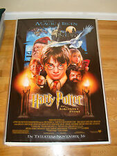 HARRY POTTER And The Sorcerer's Stone Struzan Original Double Sided Movie Poster