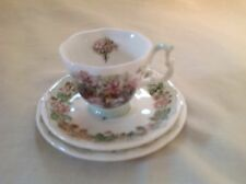 ROYAL DOULTON BRAMBLY HEDGE SUMMER MINIATURE TRIO MINT CONDITION FIRST