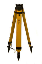 NEW Sokkia Wood Fiberglass Tripod For Rotary Lasers,Topcon Total Station or GPS