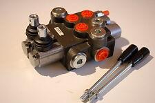 Hydraulikventil Monoblock Holzspalter Ventil 2-fach 50 L/Minute 1 x DW u. 1 x EW