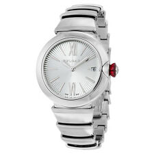 Bvlgari Lvcea Automatic Silver Dial Stainless Steel Ladies Watch 102383