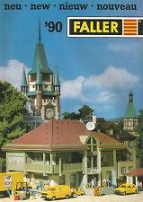 CATALOGUE PROSPECTUS FALLER 1990 - NOUVEAUTES