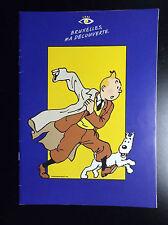 Tintin Bruxelles 1999 Brochure 15 pages ETAT NEUF