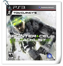 PS3 SONY PlayStation TOM CLANCY'S SPLINTER CELL: BLACKLIST Action Ubisoft