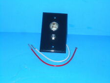 *LEVITON 12 VOLT RECEPTACLE OUTLET WITH TV/ CABLE HOOKUP BLACK RV