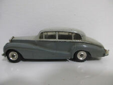 ROLLS-ROYCE SILVER WRAIGHT GRAU 1:43 VON DINKY TOYS #150 MECCANO ENGLAND 60s