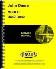 John Deere Tractor Service Manual (4640 Tractor | 4840 Tractor)