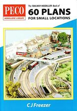 Peco PB-3 Railway Modeller Book of 60 Small Location Track Plans 1st Class Post
