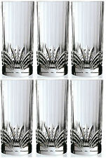 RCR Crystal Aurea Set Of 6 Crystal Hi Ball Tumblers Wine Water Tumbler 32cl