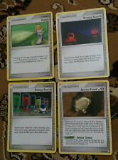 4 Trainer Pokemon Cards COMMON