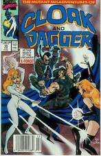 Mutant Misadventures of Cloak & Dagger # 10 (guest-starring X-Force) (USA, 1989)