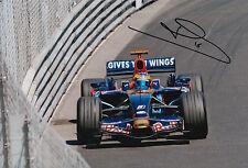 Sebastien Bourdais Hand Signed 12x8 Photo Scuderia Toro Rosso F1 7.