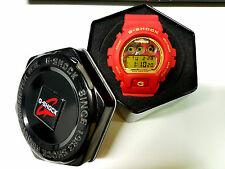 Vintage G-Shock DW-6900 Zaku Gundam Devil Red Matte Collectible Ultra Rare  item