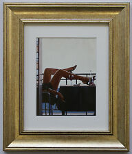 The Temptress by Jack Vettriano Framed & Mounted Art Print Picture Gold