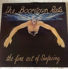 THE BOOMTOWN RATS - The Fine Art of Surfacing - 1979 Vinyl LP - Ensign ENROX11