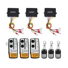 3Pcs 50ft Wireless Winch Remote Control Switch Kit for Jeep/ATV/SUV Warn Ramsey