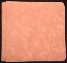 Creative Memories 7x7 Pink Rose Embossed Scrapbook Album Coverset NOOP