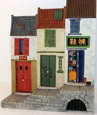 KING & COUNTRY THE STREETS OF OLD HONG KONG HK076 CHINESE TERRACE HOUSE MIB