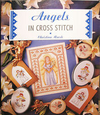 Angels in Cross Stitch book by Christina Marsh - used