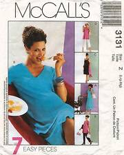McCall's Maternity Dresses,Tops,Pull-On Skirt&Pants Pattern 3131 Size L-XL
