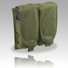 TAS DOUBLE MAGAZINE POUCH M4/M16 MOLLE, WEBBING, AIRSOFT (HOLDS 4)