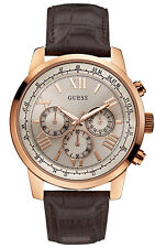 GUESS Horizon Chronograph Herrenuhr Chrono W0380G4