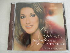 CELINE DION-leurs plus beaux chants de Noël-these are special times-CD